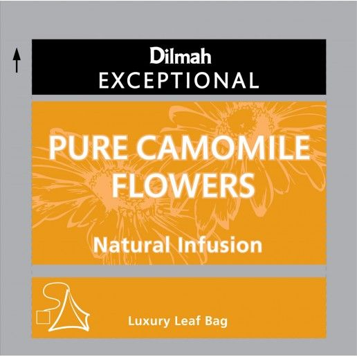 Dilmah Exceptional Pure Camomile Flowers Infusion