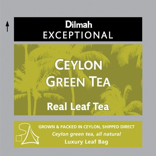 Dilmah Exceptional Ceylon Green Tea