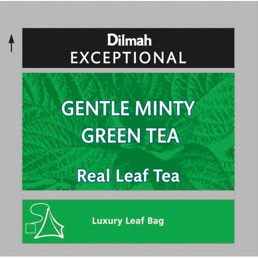 Dilmah Exceptional Gentle Minty Green Tea