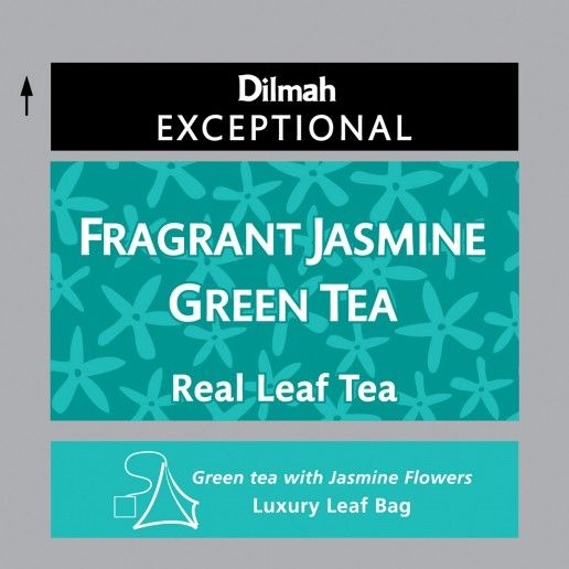 Dilmah Exceptional Fragrant Jasmine Green Tea