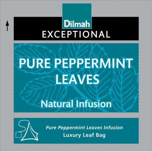Dilmah Exceptional Pure Peppermint Leaves Infusion