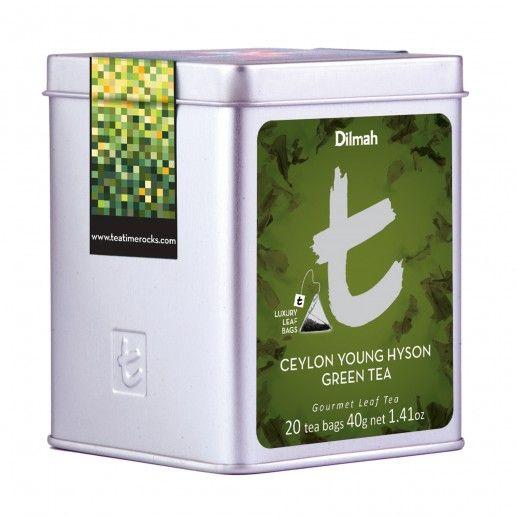 Dilmah T-Series Ceylon Young Hyson Green Tea