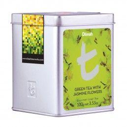 Dilmah T-Series Green Tea With Jasmine Flowers