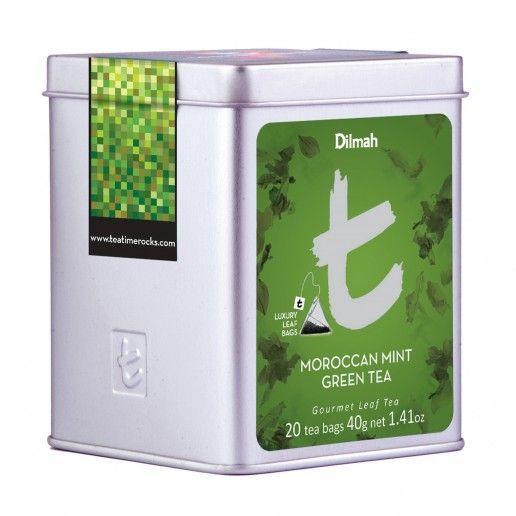Dilmah T-Series Moroccan Mint Green Tea