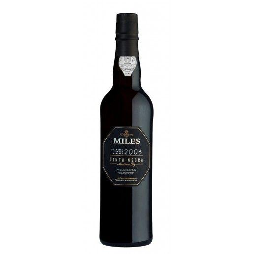 Miles Madeira Wine 15 Anos Tinta Negra Meio Doce