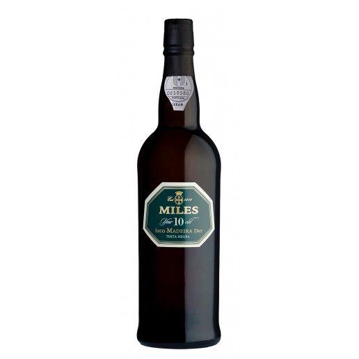 Miles Madeira Wine 10 Anos Seco